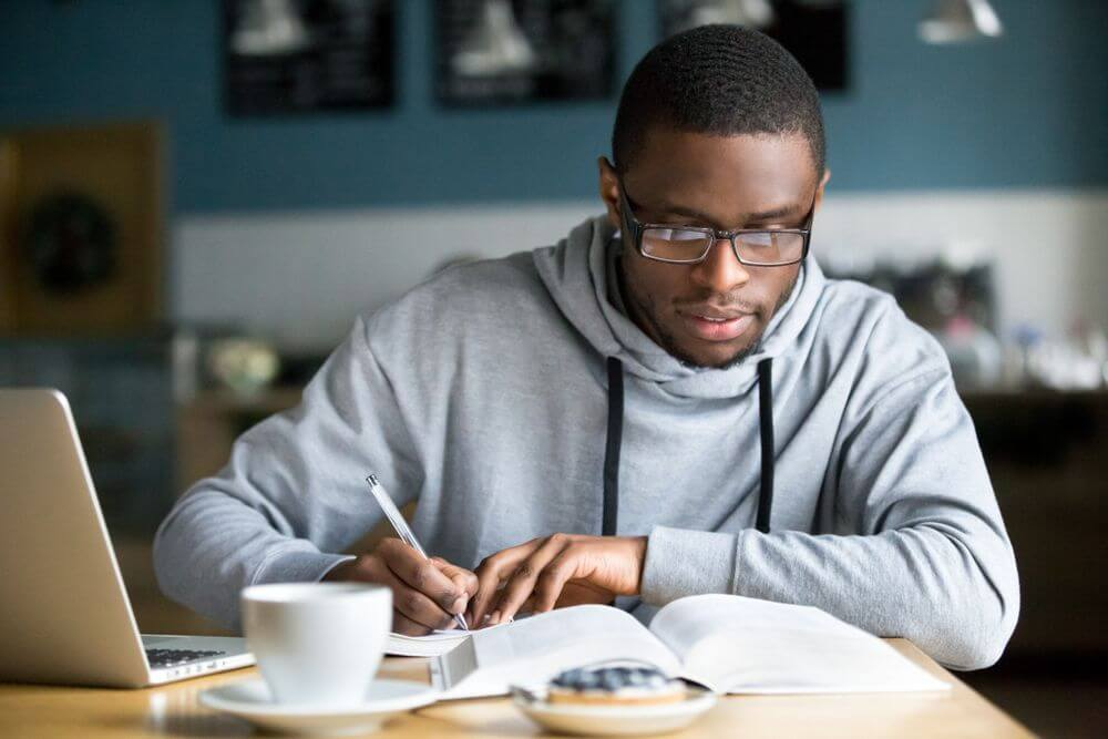 Utah Student Studying For His Psychology Masters